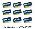 various label best product ... | Shutterstock .eps vector #476435587