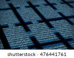 blockchain digital background | Shutterstock . vector #476441761