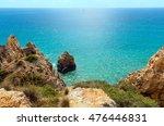 atlantic ocean rocky coast... | Shutterstock . vector #476446831