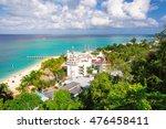 tropical caribbean island of... | Shutterstock . vector #476458411
