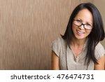 mature asian woman | Shutterstock . vector #476474731