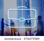 business briefcase confidential ... | Shutterstock . vector #476475589
