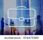 business briefcase confidential ... | Shutterstock . vector #476475589