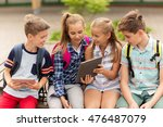 primary education  friendship ... | Shutterstock . vector #476487079
