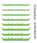 backgrounds of green grass ... | Shutterstock .eps vector #476493211