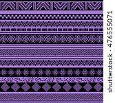 tribal seamless pattern.... | Shutterstock .eps vector #476555071