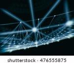 futuristic virtual technology... | Shutterstock . vector #476555875