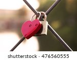 Heart Shaped Padlock Attached...