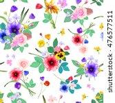 vector illustration of floral... | Shutterstock .eps vector #476577511