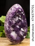 Small photo of amethyst stone/amethyst stone