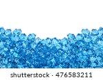 ice cubes | Shutterstock . vector #476583211