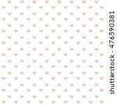 hearts background romantic  | Shutterstock . vector #476590381