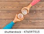cheers with beer | Shutterstock . vector #476597515