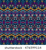 ethnic tribal festive pattern... | Shutterstock .eps vector #476599114