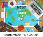 travel concept vector... | Shutterstock .eps vector #476620804