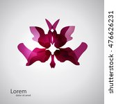 vector orchid. abstract spa... | Shutterstock .eps vector #476626231
