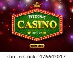 online casino background for... | Shutterstock .eps vector #476642017