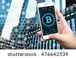 distributed ledger technology   ... | Shutterstock . vector #476642539