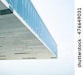 abstract detail of modern... | Shutterstock . vector #476649031