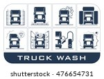 collection of very useful icons ... | Shutterstock .eps vector #476654731