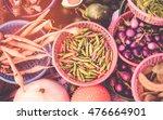 thai exotic food in street food ... | Shutterstock . vector #476664901