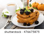 Pumpkin French Toast With...