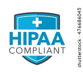 hipaa compliance icon graphic... | Shutterstock .eps vector #476686045