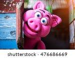 pig hand puppet | Shutterstock . vector #476686669