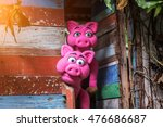 pig hand puppet | Shutterstock . vector #476686687