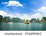 Halong Bay In Vietnam. Unesco...