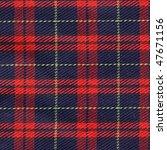 traditional scottish tartan...   Shutterstock . vector #47671156
