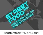 urban street font bold | Shutterstock .eps vector #476713504