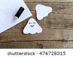 Sewing Felt Halloween Ghost...