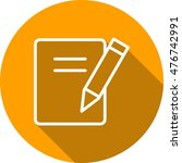 notes | Shutterstock .eps vector #476742991