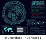 communication hud interface...