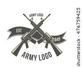 gun store  shooting club  army... | Shutterstock .eps vector #476759425