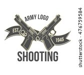 gun store  shooting club  army... | Shutterstock .eps vector #476759584