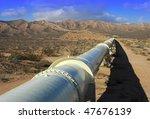 california aqueduct in the... | Shutterstock . vector #47676139