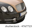 front view of a luxury car | Shutterstock . vector #4767715