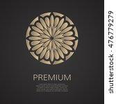 vector logotype. vector luxury... | Shutterstock .eps vector #476779279