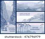 outdoor thematic banner design... | Shutterstock . vector #476796979