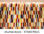the tile with colorful pattern | Shutterstock . vector #476819821