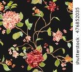 vintage flowers   floral... | Shutterstock .eps vector #476852035