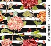 vintage flowers   floral... | Shutterstock .eps vector #476852041