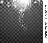 shiny sunburst of sunbeams on... | Shutterstock .eps vector #476855725