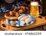 Bavarian Sausage With Pretzel ...
