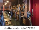 beer in the bar july 2016... | Shutterstock . vector #476874937