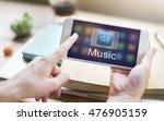 digital music streaming... | Shutterstock . vector #476905159