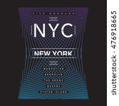 New York Nyc Typography  T...