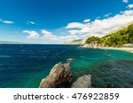 beautiful rocky coastline on... | Shutterstock . vector #476922859